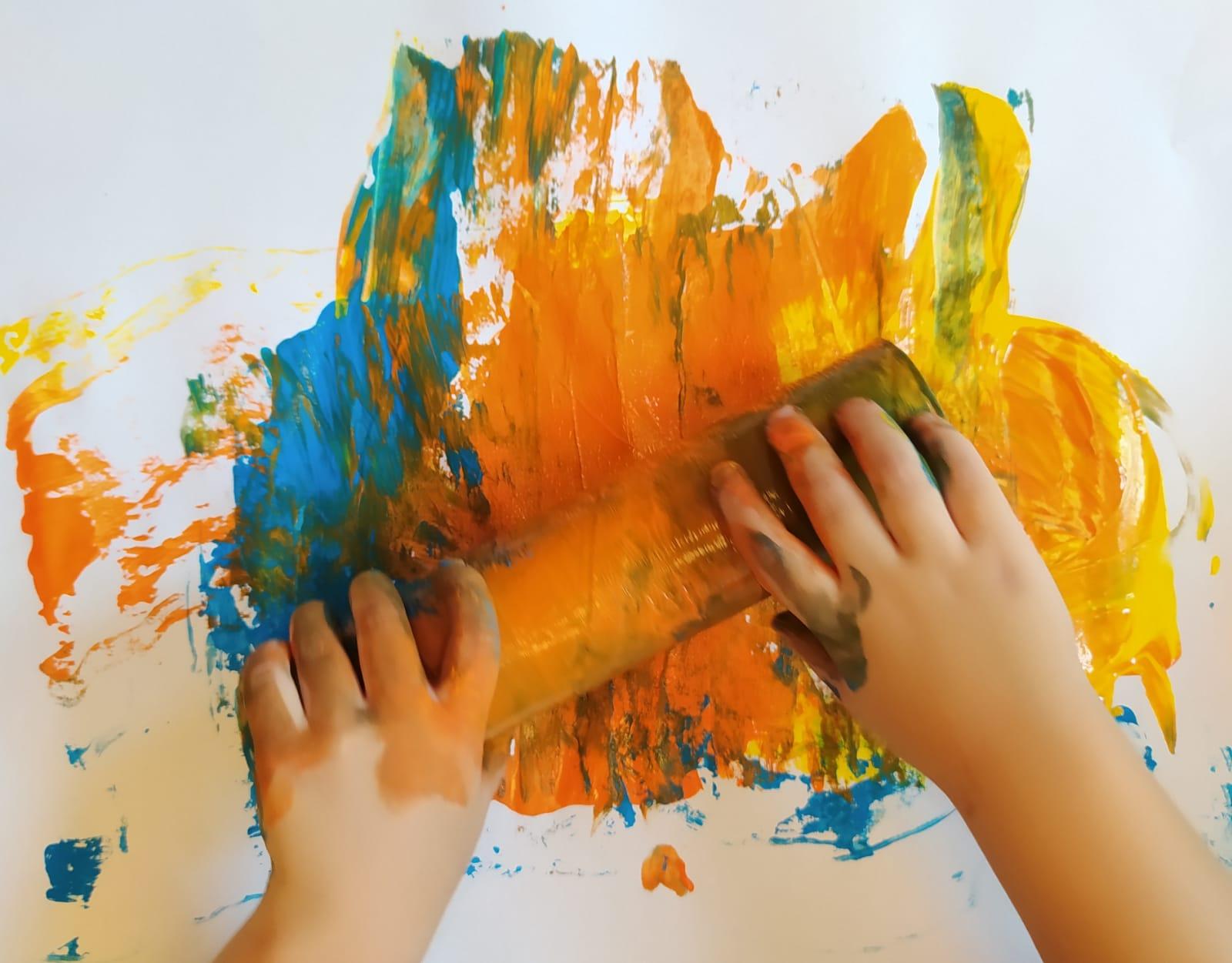Oggi molta creatività!